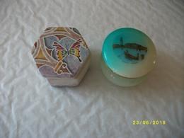 2 Belles Boîtes Origine VENISE - Populaire Kunst