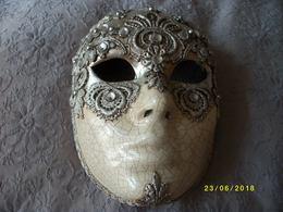 ATTENTION!!!! Véritable Masque De VENISE En Papier Mâché - Popular Art