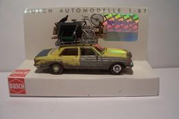 """MERCEDES-BENZ  W123   -  """"Unverwustlich """" - AUTOMOBILE - MODELE REDUIT -"""" BUSCH """" - Echelle 1:87"""