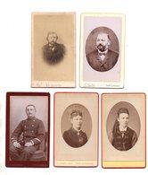 Vitry Le Francois. Lot De 10 CDV. Personnages,enfant,militaire Etc....TBE. - Photographs