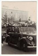 TRIESTE Occupazione 1954 Il Presidente Einaudi Entra A Trieste - Trieste