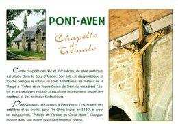 Pont Aven La Chapelle De Tremalo  CPM Ou CPSM - Pont Aven
