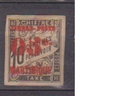 MARTINIQUE       N°  YVERT  :    23    NEUF AVEC  CHARNIERES      ( Ch 012    ) - Martinique (1886-1947)
