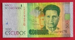 # CAP VERT (Cape Verde) 500 Escudos [Jorge Barbosa] 5/7/2014 TTB - Cap Vert