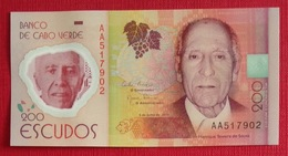 # CAP VERT (Cape Verde) 200 Escudos [Henrique Teixeira De Sousa] 5/7/2014 Polymer UNC - Cape Verde