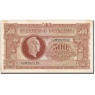 France, 500 Francs, 1945, 1945-06-04, TTB, Fayette:VF11.2, KM:106 - Trésor