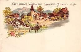 CPA Exposition Nationale Suisse Genève 1896 - GE Geneva