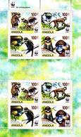 Barbade 1157 / 60 ( Feuille Complète ) Protection De La Faune / Le Baliste / WWF - Unused Stamps