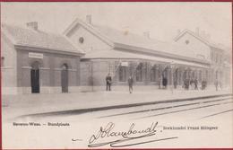 Beveren Waas 1903 Waasland Standplaats De Statie Station La Gare ZELDZAAM - Beveren-Waas