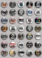 Ramones Band Music Fan ART BADGE BUTTON PIN SET (1inch/25mm Diameter) 35 DIFF C - Muziek