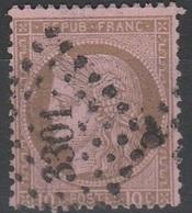 PETITS CHIFFRES DES GROS CHIFFRES - 3301 - SARLAT - DORDOGNE - Marcophilie (Timbres Détachés)