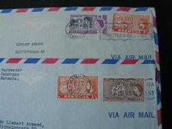 Bermuda 2 Alte Briefe  Hamilton 1962 - Bermuda