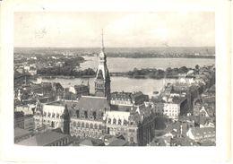 Deutschland - Hamburg - Rathaus Mit Auf Binnen-und Aussenalster - Allemagne