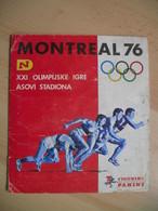 OLYMPIC GAMES MONTREAL 76,ALBUM,FIGURINE PANINI - Panini