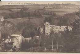 Elsenborn - Environs Du Camp - Ruines à Montjoie - Ruines Du Château - Circulé En 1930 - TBE - Elsenborn (Kamp)