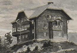 AK 0936  Hönigsberg ( Bärenkogelhaus ) - Künstlerkarte Sign.  V. A. Borochowsky Um 1950 - Mürzzuschlag