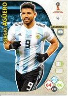 Panini Adrenalyn FIFA World Cup Russia 2018 - Sergio AGÜERO N°16 - Trading Cards