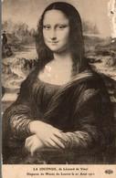 LA JOCONDE DE LEONARD DE VINCI  DISPARUE DU MUSEE DU LOUVRE LE 21 AOUT 1911 - Malerei & Gemälde
