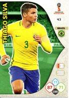 Panini Adrenalyn FIFA World Cup Russia 2018 - Thiago SILVA N°43 - Trading Cards
