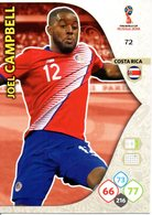 Panini Adrenalyn FIFA World Cup Russia 2018 - Joel CAMPBELL N°72 - Trading Cards