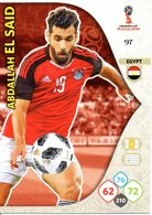 Panini Adrenalyn FIFA World Cup Russia 2018 - Abdallah EL SAID N°97 - Trading Cards