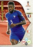 Panini Adrenalyn FIFA World Cup Russia 2018 - Samuel UMTITI N°140 - Trading Cards