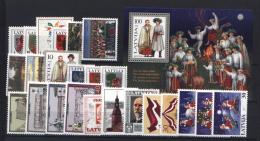 Lettonia 1998 Annata Completa / Complete Year Set **/MNH VF - Lettonia