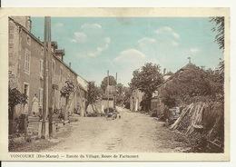 52 - VONCOURT / ENTREE DU VILLAGE - ROUTE DE FARINCOURT - Autres Communes