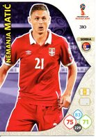 Panini Adrenalyn FIFA World Cup Russia 2018 - Nemanja MATIC N°310 - Trading Cards