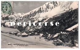 65  Barège  Avalanche Du 2 Fevrier 1907 - France