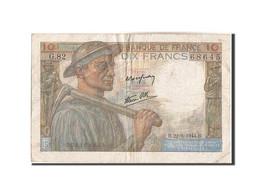 Billet, France, 10 Francs, 10 F 1941-1949 ''Mineur'', 1944, 1944-06-22, TTB - 1871-1952 Anciens Francs Circulés Au XXème