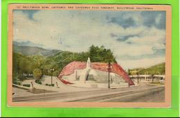 HOLLYWOOD BOWL - Entrance - Sent To Belgium With Postage Due (1928) - Etats-Unis