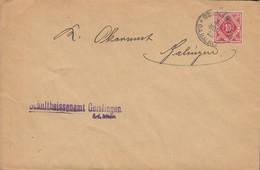 INFLA Württemberg Dienstpost 115 EF Auf Brief  Mit Stempel: Ohmenhausen 15.FEB 1919 - Wuerttemberg