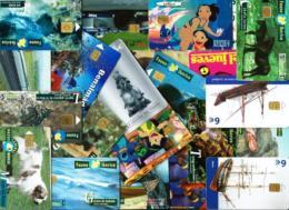 LOTE - (58 Tarjetas Telefónicas)  Usadas - Tarjetas Telefónicas