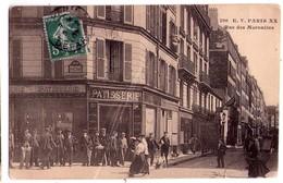 1983  - Paris ( XXe ) - Rue Des Maronites - E.V. - N°206 - Arrondissement: 20