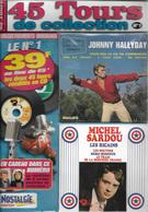 """Johnny Hallyday / Michel Sardou  """"  Pour Moi La Vie Va Commencer / Les Ricains  """" - Musik & Instrumente"""