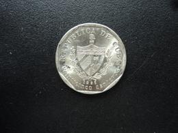 CUBA : 25 CENTAVOS  1998   KM 577.2   Non Circulé - Cuba