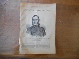 FABRE-PALAPRAT (BERNARD-RAYMOND DE SPOLETTI (1775-1838) (ET ENCORE CHATEL!) 15 AVRIL 1894 16 PAGES LES CONTEMPORAINS - Livres, BD, Revues