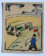 Image Ancienne Banania Album 1936 Course Automobile N°39 Courbevoie - Banania