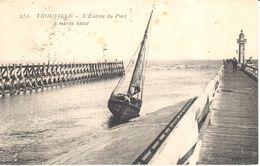 (14) Calvados - CPA - Trouville - L'entrée Du Port à Marée Basse - Trouville