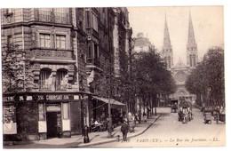 1987 - Paris ( XXe ) - La Rue Du Jourdain - L.L. - N°1918 - - Arrondissement: 20