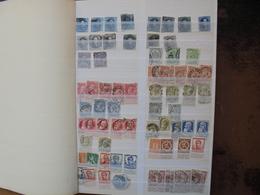"""BELGIQUE TOUTES EPOQUES OBL+NEUFS DONT OBLITERATIONS""""CONCOURS"""" (B.3) 1 KILO 200 - Collections"""