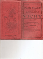 03 Allier :  Vichy  Guide Et Plan Exact  Max. Mabyre Géographe - Toeristische Brochures