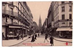 1988 - Paris ( XXe ) - Rue Etienne Dolet , Au Boulevard De Belleville - F.Fleury ' N°1592 - ( Tout Paris ) - Arrondissement: 20