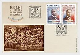 Roemenië / Romania - Postfris/MNH - FDC Bessarabia 2018 - Unused Stamps