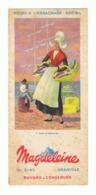 """Buvard Publicitaire - Biscottes """" MAGDELEINE """" Granville - Dans Le Bordelais (fr62) - Alimentaire"""