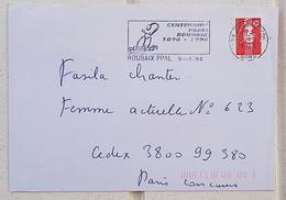 FRANCE Cyclisme, Velo, Bicyclette. Flamme Temporaire Illustrée CENTENAIRE PARIS ROUBAIX 1896- 1996 - Wielrennen