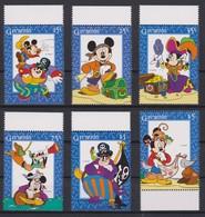 2249   WALT DISNEY  - GRENADA  ( Mickay Et Les Corcaires ) Les Aventures De Mickey . - Disney