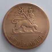 Ethiopie - 5 CENTS - 1936 - (1943-1944) - - Ethiopia