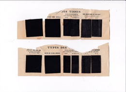 Rare ! échantillons Tissus Vulcanisés Manteaux Cavaliers J. B. Torrilhon, Clermont-Ferrand (Puy-de-Dôme), Années1900 - Uniforms